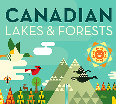 CANADIAN LAKES & FORESTS