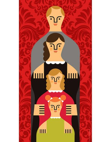 CUSTOM FAMILY TOTEM PORTRAITS