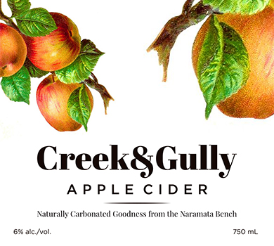 CREEK & GULLY CIDER