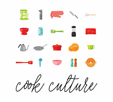 COOK CULTURE ICON SET